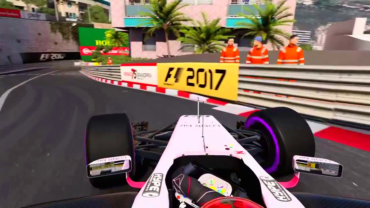 f1 2017 force india onboard monaco ps4 hd youtube. Black Bedroom Furniture Sets. Home Design Ideas