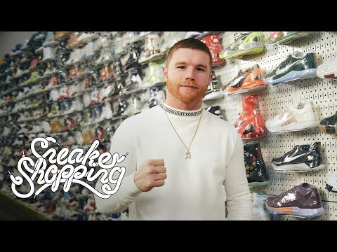 Canelo Àlvarez Goes Sneaker Shopping With Complex