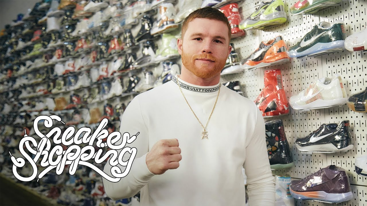 Goes Sneaker Shopping With Complex