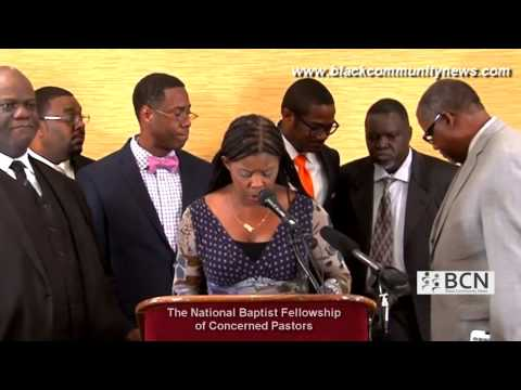 The National Baptist Fellowship of Concerned Pastors Live News Press Conference 3-17-2015