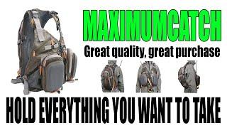 Maxcatch Fly Fishing Vest Mesh Vest Adjustable Size