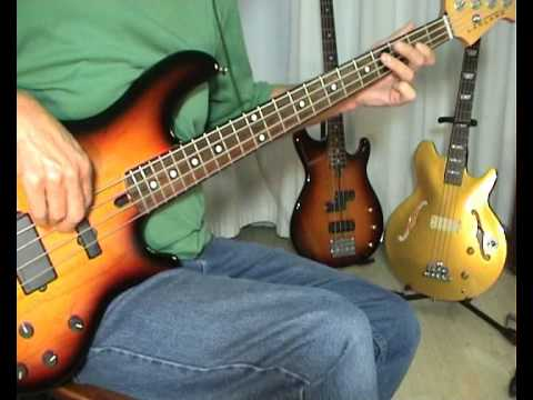 Eruption - One Way Ticket - Bass Cover