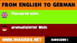 DEUTSCH   ENGLISCH  = aromatisierter Wein