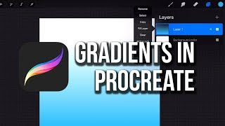 3 Ways to Make Gradients in Procreate!