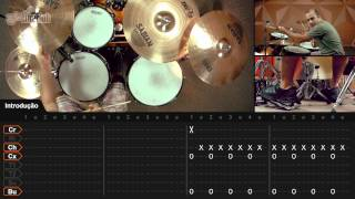 (I Can't Get No) Satisfaction - The Rolling Stones (aula de bateria)