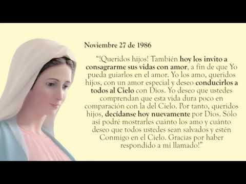 Consagración a Jesús por María Reina de la Paz - Día 2