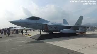 [KF-X] 한국형 차세대 전투기 실물크기 모형 (Wa…