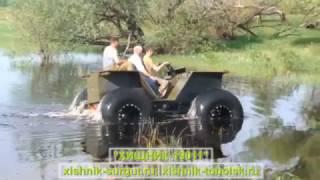 Испытания (вездеход ХИЩНИК-19011)(Производство 4-х и 6-ти колесных вездеходов