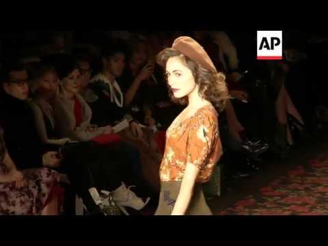 Designer Lena Hoschek kicks off Berlin Fashion Week