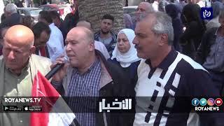 فلسطينيون ينفذون وقفات تضامنية مع سوريا
