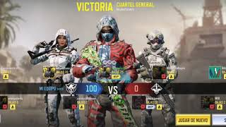 VAMOS A TOMAR EL CUARTEL GENERAL CON VARIAS BAJAS/SACROSS GAMER/CALL OF DUTY MOBILE/COD MOBILE