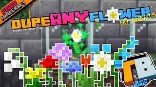 Duplicating Flowers | Truly Bedrock Season 1 [64] | Minecraft Bedrock Edition SMP