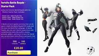 "How To Get The New! ""SHADOW LEGENDES BUNDLE"" in Fortnite! (Shadow legends Bundle)"