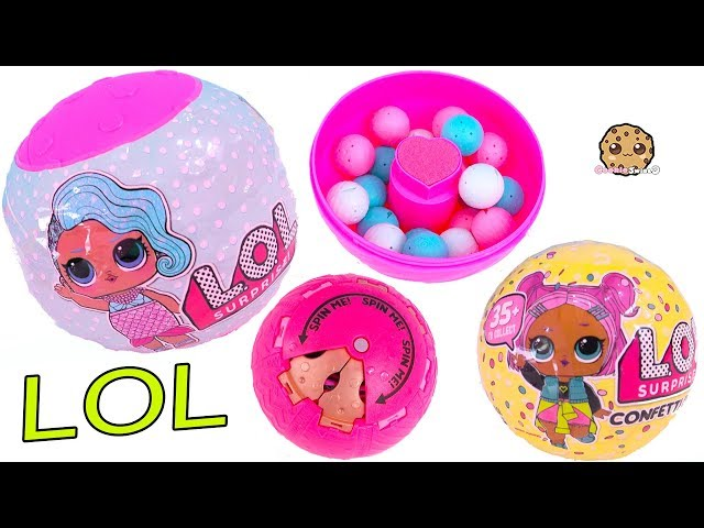 Lol Surprise Confetti Pop Blind Bag Dolls Ball Game