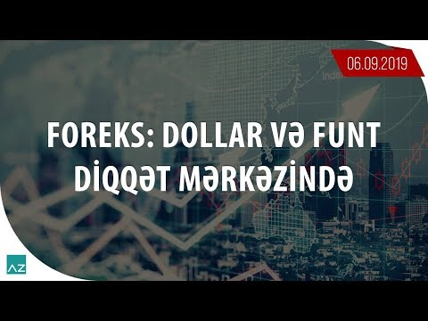 Foreks: Dollar və Funt diqqət mərkəzində | 06.09.2019 - Günlük analiz