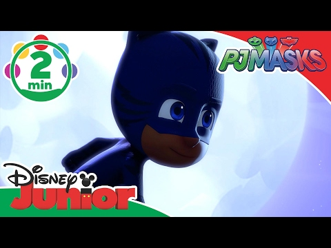 PJ Masks | The Bravest Cat | Disney Junior UK