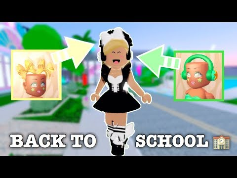 Back To School Outfit Hacks Roblox Royale High Youtube