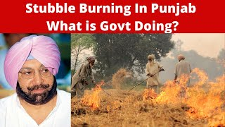 Air Pollution in North  ndia   Maximum Stubble Burning in Punjab   What is Govt Doing