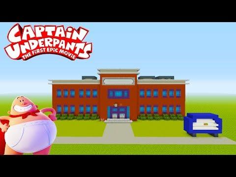 "Minecraft Tutorial: How To Make Jerome Horwitz Elementary School ""Captain Underpants"""