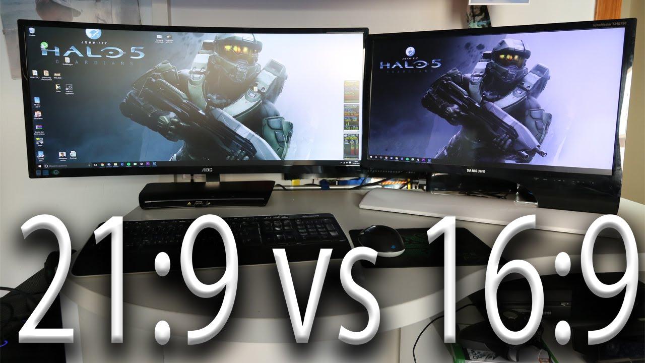 Confronto 21:9 vs 16:9 - Confronto tra Formati Monitor PC - YouTube