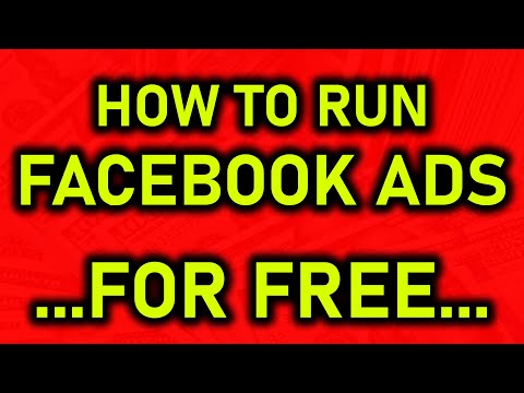 How To Do Facebook Ads 100% For Free In 2019