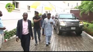 OBASANJO MEETS ANOTHER AFENIFERE LEADER, AYO ADEBANJO IN LAGOS