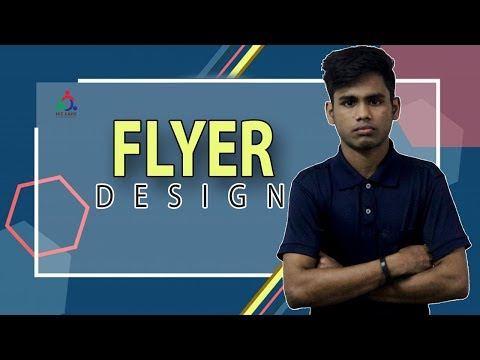 Creative Flyer Design - Photoshop CC Tutorial! Photoshop Tutorial By ICT CARE