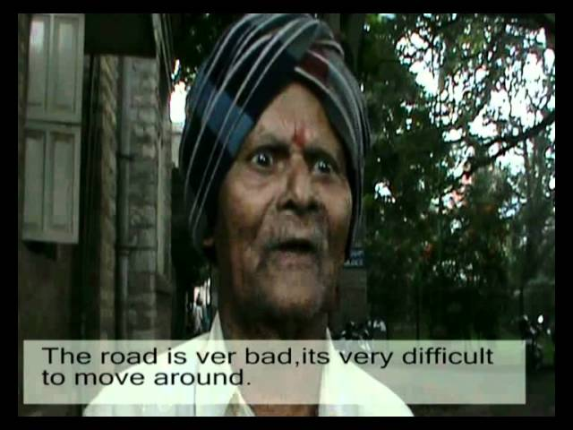Bad Roads in Victoria Hospital Travel Video