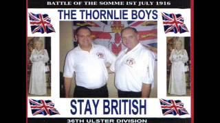 THE THORNLIE BOYS The Sash, Billy Boys