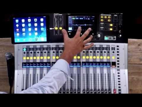 Yamaha TF Series Digital Mixers Demo