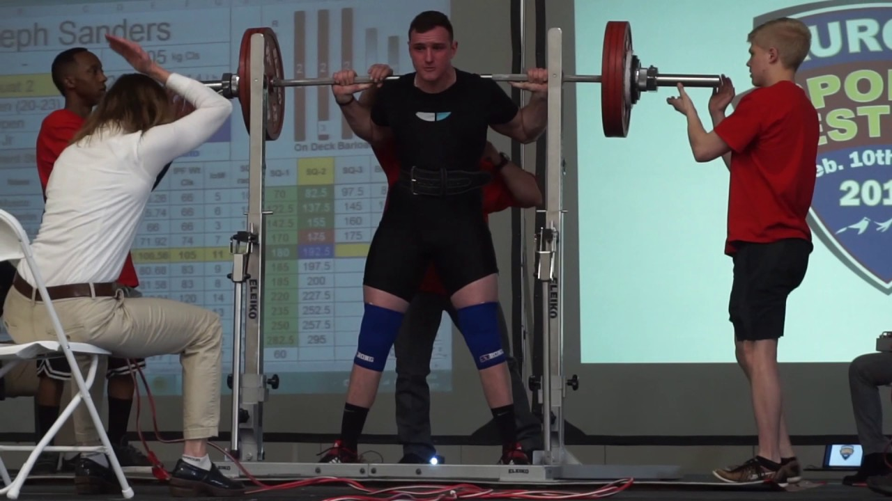 Colorado powerlifting meets