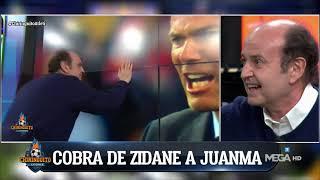 🤣 ZIDANE le hace la 'COBRA' a JUANMA RODRÍGUEZ en El Chiringuito