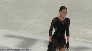 Alina Zagitova GP Final 2019 SP Practice Me Voy