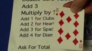 Math-0-matics Card Trick