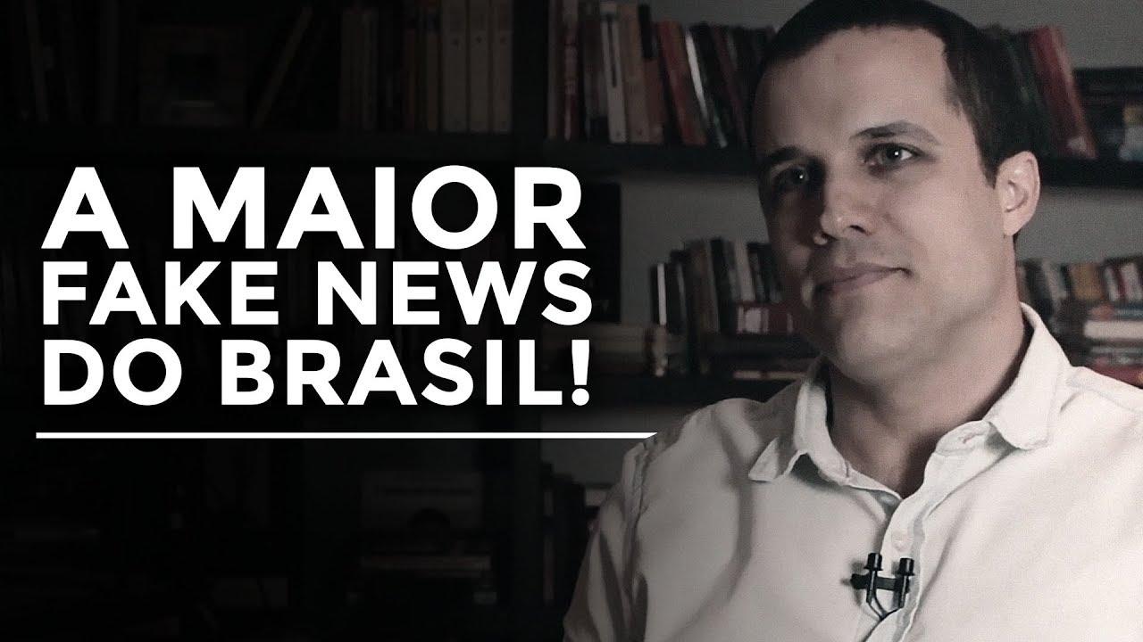 A maior FAKE NEWS do Brasil! | Felipe Moura Brasil | Congresso Brasil Paralelo