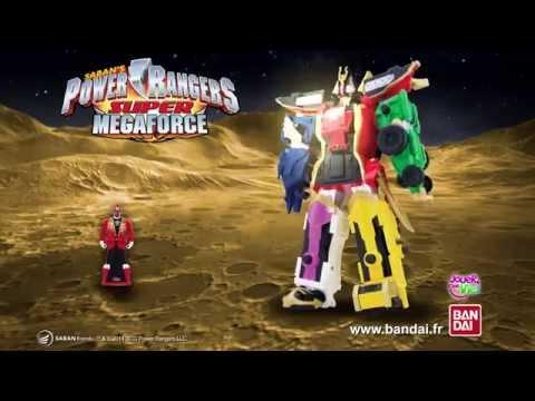 Power Rangers Super Megaforce - Publicité - BanDai - DX Megazord Légendaire