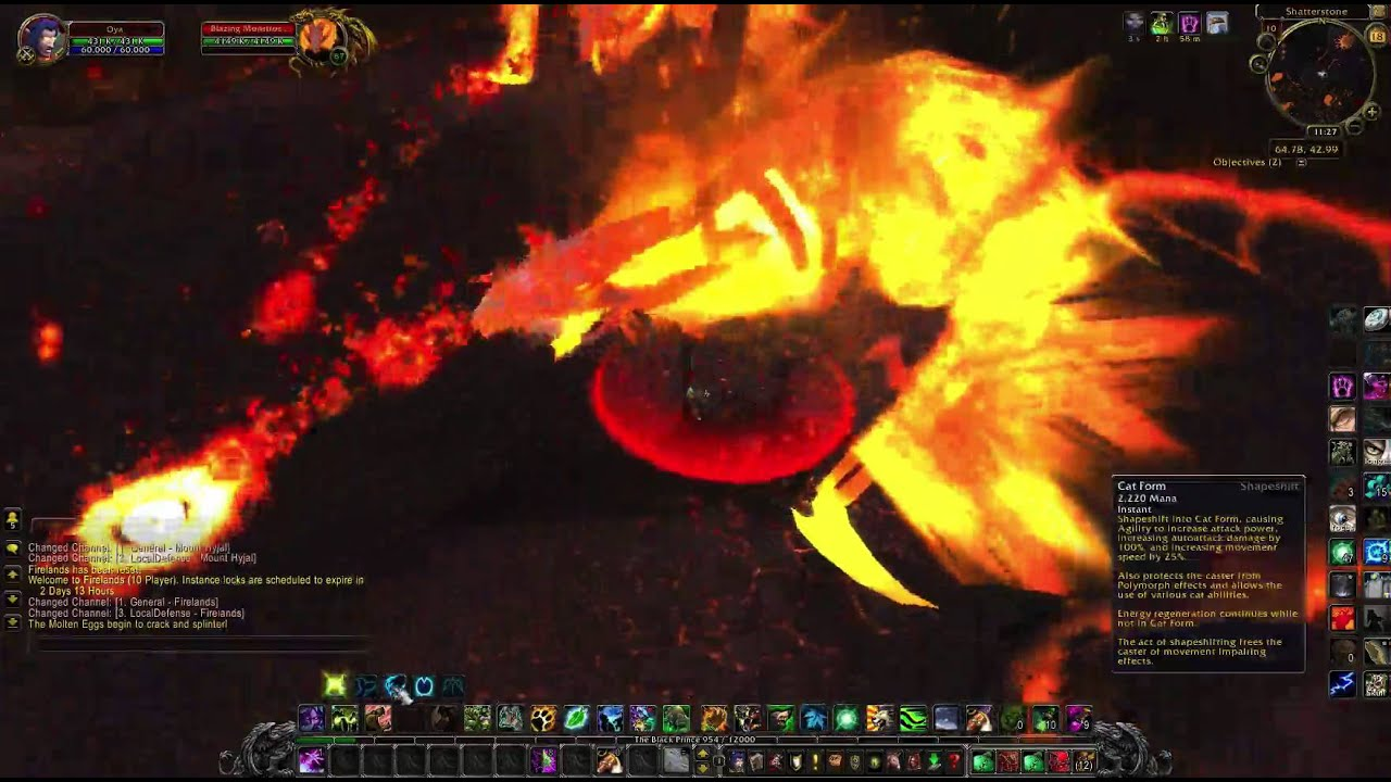 Druids of the Flame in 5.2 (works in 7.1+) - how to solo get ...