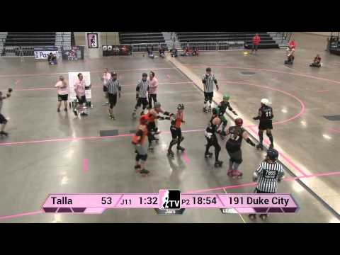 Tallahassee Rollergirls v Duke City Roller Derby: 2013 WFTDA D2 Playoffs in Des Moines