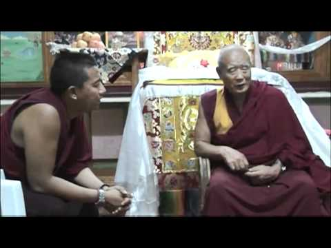 Interview with High Lamas of Gaden Monastery - Geshe Yeshe