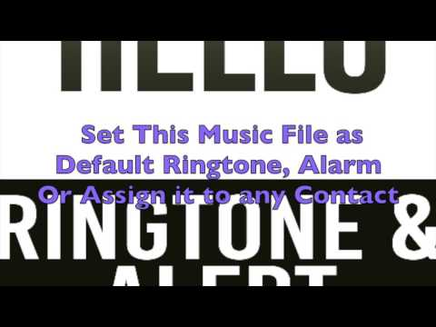Adele - Hello Ringtone and Alert