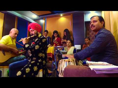 MERE RASHKE QAMAR RECORDED LIVE ON FLUTE TO TRIBUTE NUSRAT FATEH ALI KHAN BY BALJINDER SINGH BALLU
