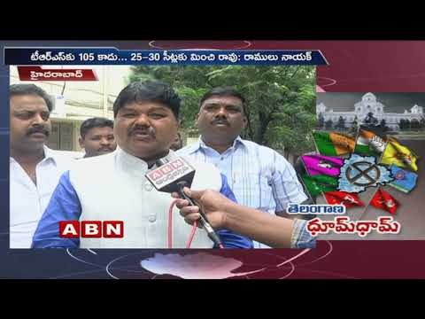 MLC Ramulu Nayak face to face over His suspension from TRS and TRS Manifesto | ABN Telugu