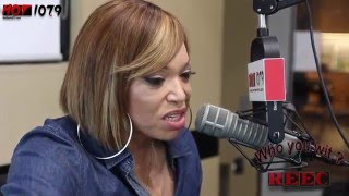 Tisha Campbell Interview w: Reec On Hot 107 9