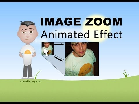 Image Zoom Effect Animation CSS3 HTML Tutorial