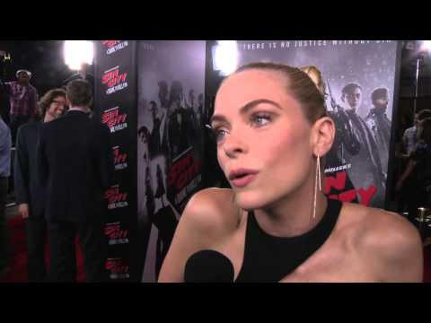Sin City: A Dame to Kill For: Jamie King Red Carpet Movie Premiere Interview