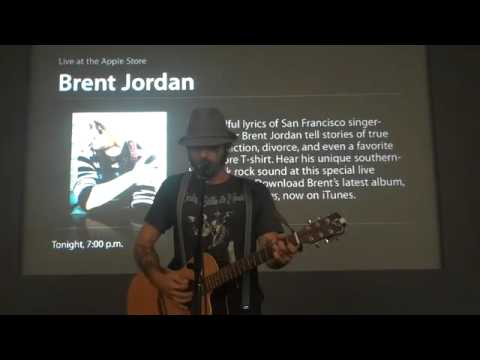"brent jordan live at the apple store ""family song"""