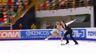 Виктория Синицина Никита Кацалапов Ритм танец Гран при по фигурному катанию 2020 21