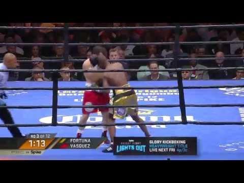 FULL FIGHT: Javier Fortuna vs Bryan Vasquez - 5/29/15 - PBC on Spike
