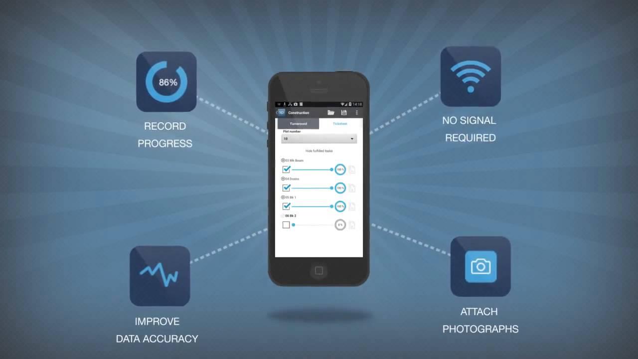 Site progress mobile for asta powerproject youtube for Progress mobili