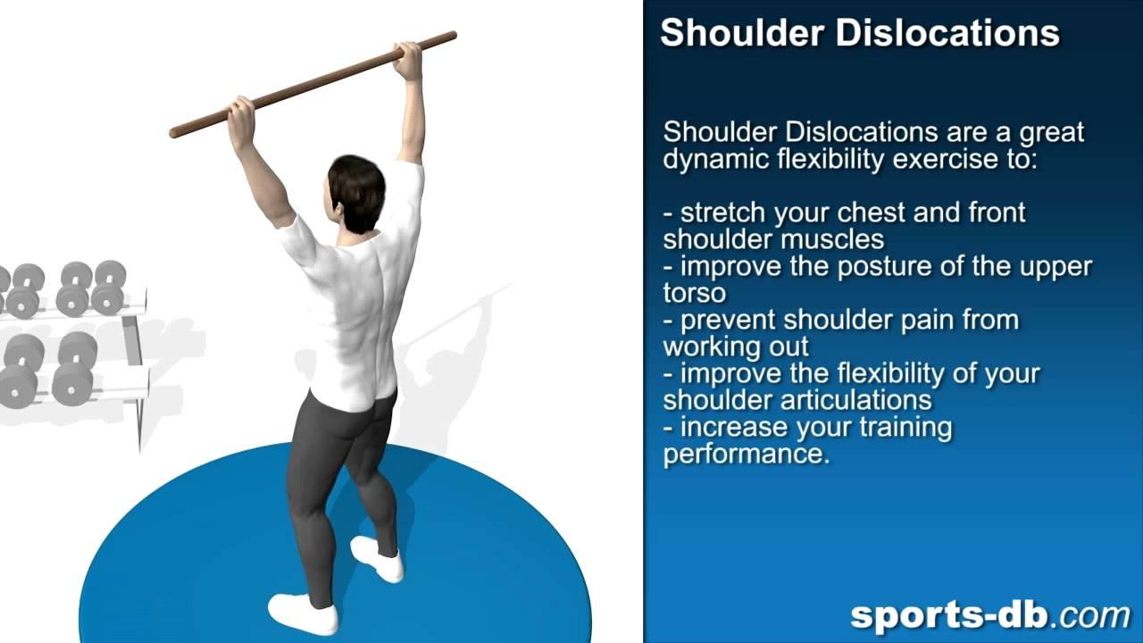 Shoulder Dislocations for Shoulder Flexibility - YouTube